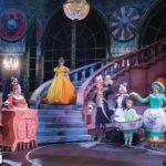 kristallen kroonluchter huren als decoratie van Beauty & the Beast